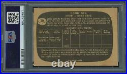 1966 Topps # 35 Bobby Orr SIGNED PSA/DNA 8 Auto RC Rookie Boston Bruins