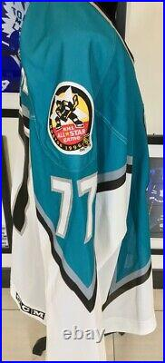 1996 NHL All-Star Event Worn Autographed CCM Jersey Ray Bourque With NHLPA COA