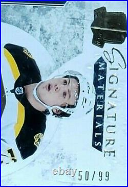 2017-18 Charlie Mcavoy Ud The Cup Signature Material Autograph Rookie #sp-mc /99