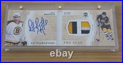 2018-2019 The Cup Ray Bourque Autographed Pro Gear Booklet /12