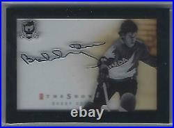 Bobby Orr 17/18 Upper Deck The Cup Team Canada The Show Auto TS-BO