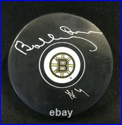 Bobby Orr #4 Boston Bruins Signed Autographed Hockey Puck PSA/Great North Road