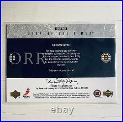 Bobby Orr Boston Bruins SP Authentic Sign Of The Times Autograph Card