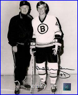 Bobby Orr Boston Bruins Signed Autographed Vintage 8x10 With Don Cherry