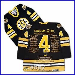 Bobby Orr CCM Career Jersey Signed Special Edition of 44 Boston Bruins
