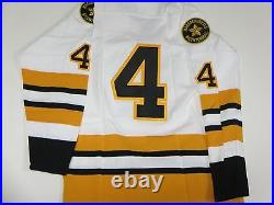 Bobby Orr Signed Boston Bruins Stat Jersey Great North Road Coa #'d 13/44