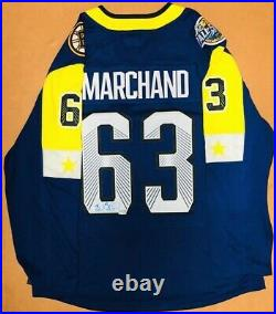 Brad Marchand Boston Bruins Signed Autographed 2018 All-Star Hockey Jersey
