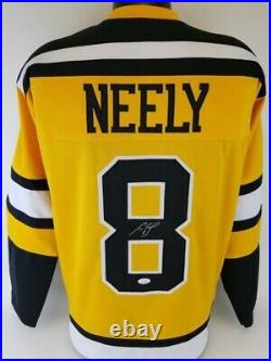 Cam Neely Signed Bruins Yellow Jersey (JSA) Boston Right Winger 1986 to 1996