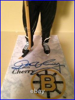 Mcfarlane Nhl (ONE) Don Cherry OR Terry O''Reilly Autographed Signed figure Rare
