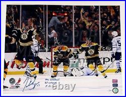 Patrice Bergeron Boston Bruins Limited Edition COMEBACK Signed Inscribed 16x20