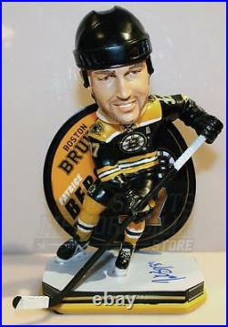 Patrice Bergeron Boston Bruins Signed Autographed Legend of the Ice Bobblehead