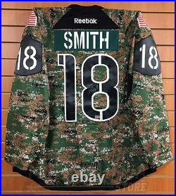 Reilly Smith Boston Bruins Signed Game Worn Military Jersey Vegas Golden Knights