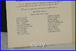 Scarce! 1939 Boston Bruins Victory Dinner Program, Signed by Lionel Hitchman